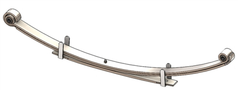 1993 - 1998 T100 Regular Cab 4x4 rear leaf spring, 3(2/1) leaves