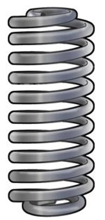 Heavy Duty Coil Springs 1994 - 2012 Dodge Ram 2500 / 3500 2 Wheel Drive with independent front suspension and gas motor