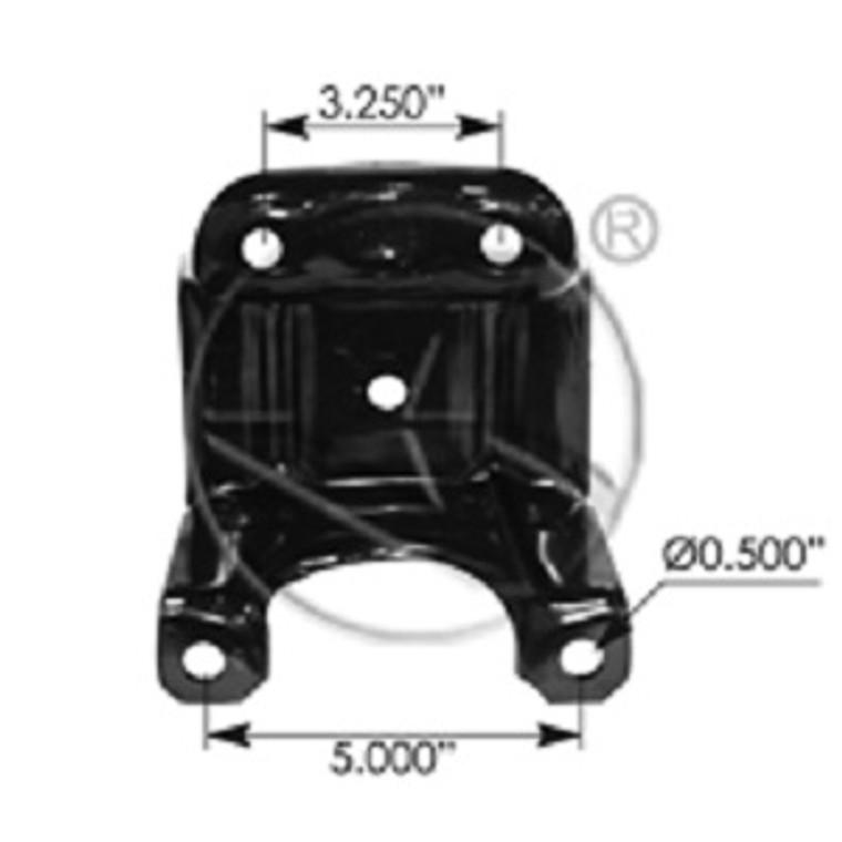 Astro / Safari rear leaf spring u bolt plate