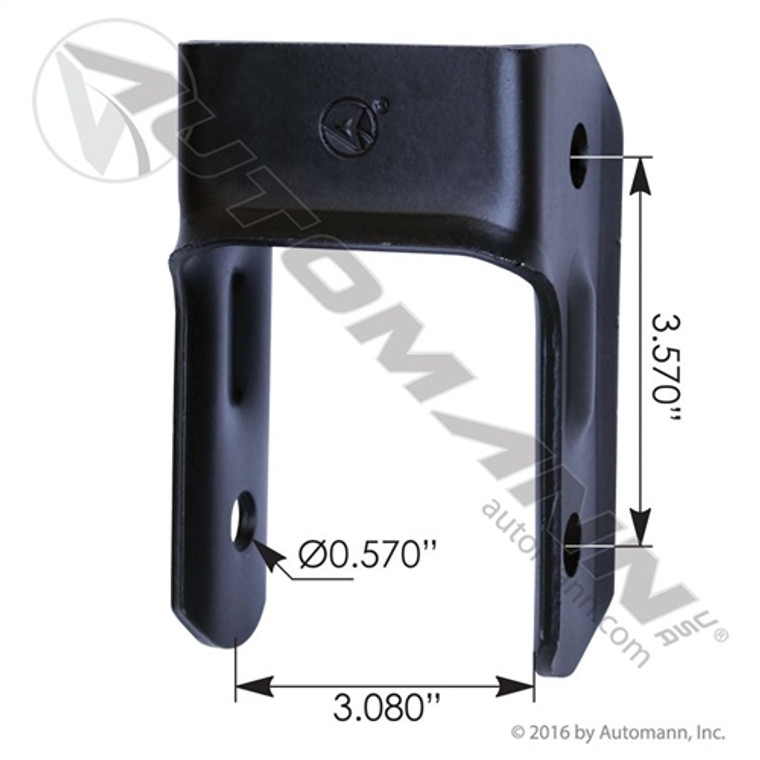 2004 - 2013 Chevy Colorado / GMC Canyon, 2006 - 2010 Hummer H3 rear shackle (2 needed per vehicle)