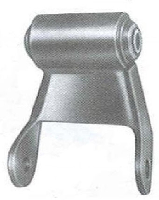 "1973 - 1979 F250 / F350 rear shackle with 2-1/4"" wide leaf springs"