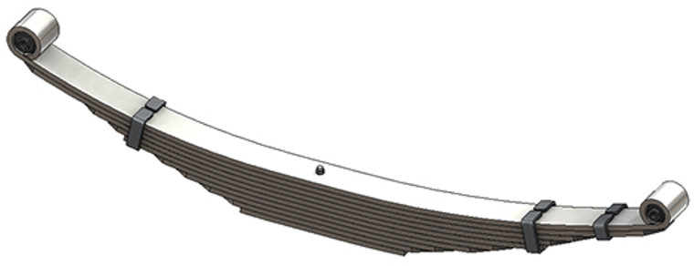1999 - 2007 Ford Super Duty Chassis Cab Heavy Duty rear leaf spring, 10 leaves, 5400 lbs capacity