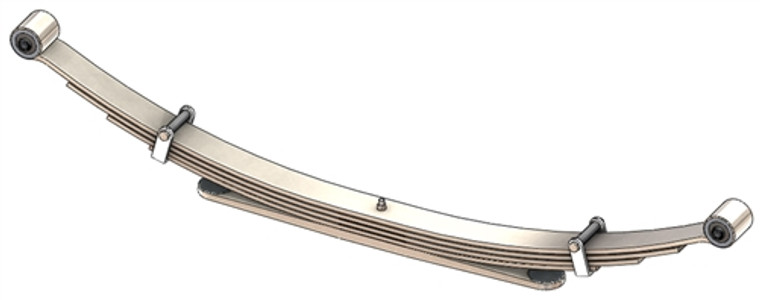 1992 - 1994 Full Size Blazer / Jimmy rear leaf spring, 1750 lbs capacity, 5(4/1) leaf