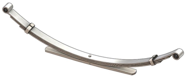 2000 - 2001 Nissan Xterra 6 cylinder rear leaf spring, 4(3/1) leaf