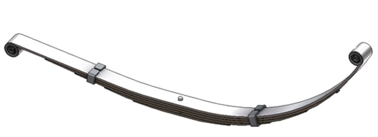 1998 - 2003 Dodge Durango heavy duty rear leaf spring, 5 leaves, 2250 lbs capacity