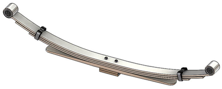 2010 - 2013 Dodge Ram 2500 / 3500 4x4 rear leaf spring, 4(3/1/3 Pads) leaves, 2800 lbs capacity