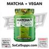 MATCHA + VEGAN PROTEIN: Vegan Protein + Green Tea