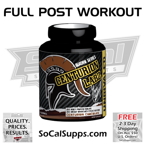 UNRIVALED: Post-Workout Nutrition
