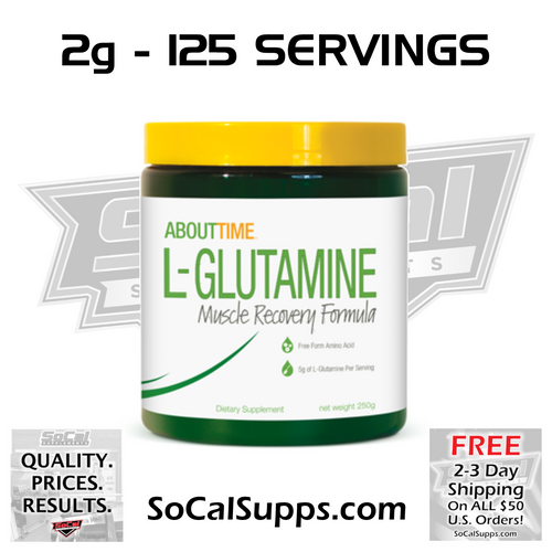 L-GLUTAMINE: For Faster Recovery