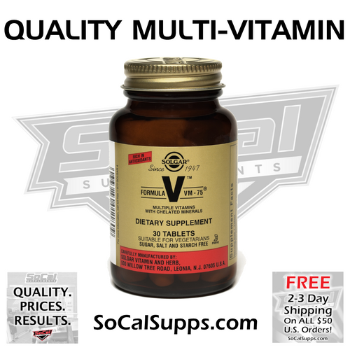 Formula VM-75 Tablets: Multi-Vitamin
