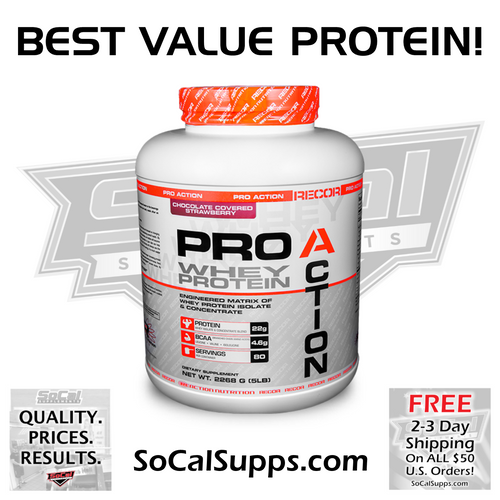 PRO ACTION 5LB: 80 Servings & Great Taste