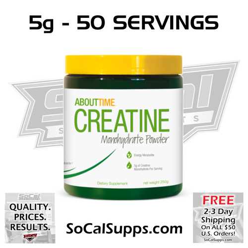 CREATINE MONOHYDRATE: Increase Strength & Output
