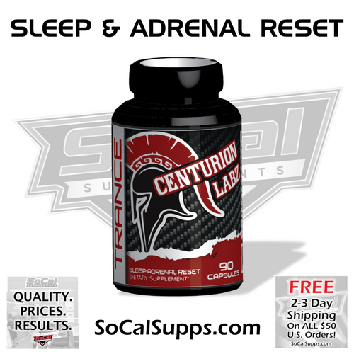 WARRIOR TRANCE: Sleep Aid with Adrenal Reset