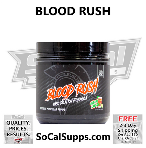 BLOOD RUSH: Intense Pump Blend