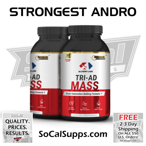 TRI-AD MASS: Strongest Anabolic Andro