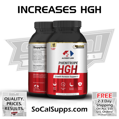 PHENITROPE HGH: Enhanced GH & Recovery