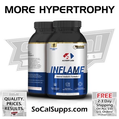 INFLAME: Increased Pump & Hypertrophy