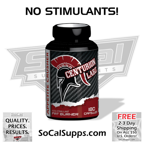 APPETITE CRUSHER: Non-Stimulant Appetite Suppressant