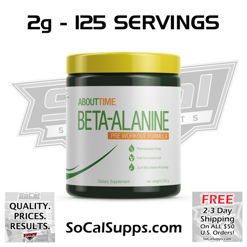 BETA ALANINE: Increase Burn & Reduce Fatigue