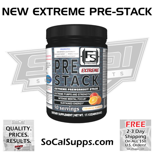EXTREME PRE-STACK: Extreme Pre-Workout