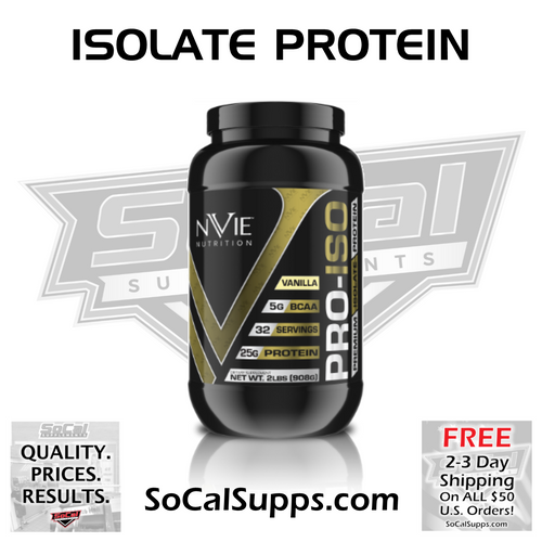 PRO-ISO: 2lb Isolate Protein