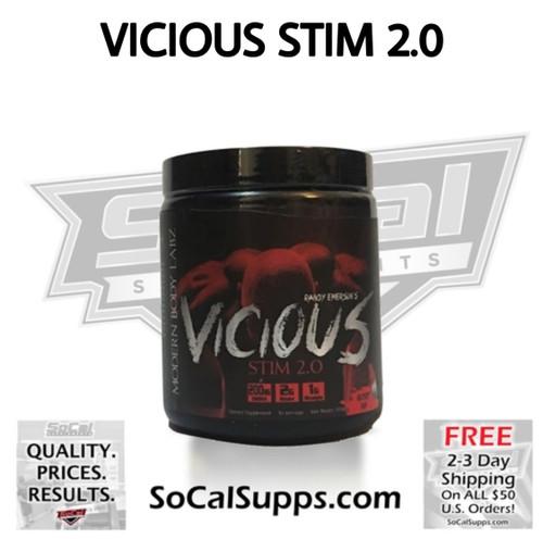 VICIOUS STIM 2.0: Vicious Pre-Workout