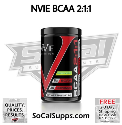 NVIE BCAA: Advanced Muscle Support