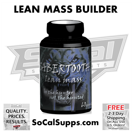 SABERTOOTH LEAN MASS: Be the Hunter. Not the Hunted