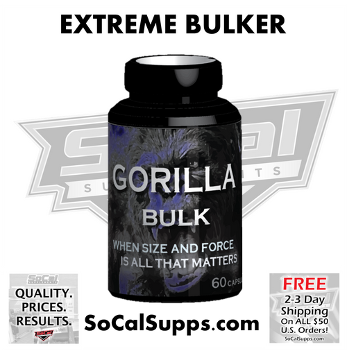 GORILLA BULK: When Size & Force is All that Matters