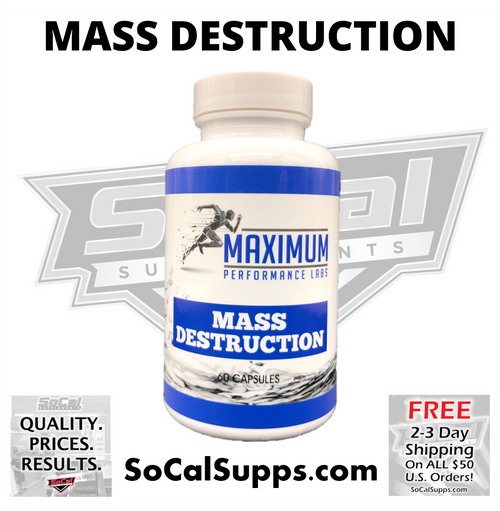 MASS DESTRUCTION - Pills