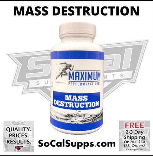 MASS DESTRUCTION - Pills