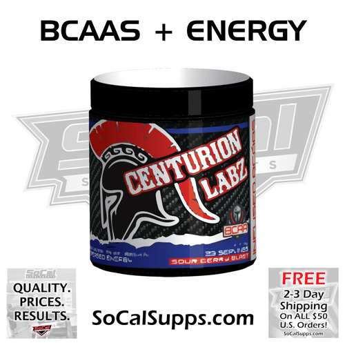 INFUSED BCAAs: Energy Infused Amino Acids