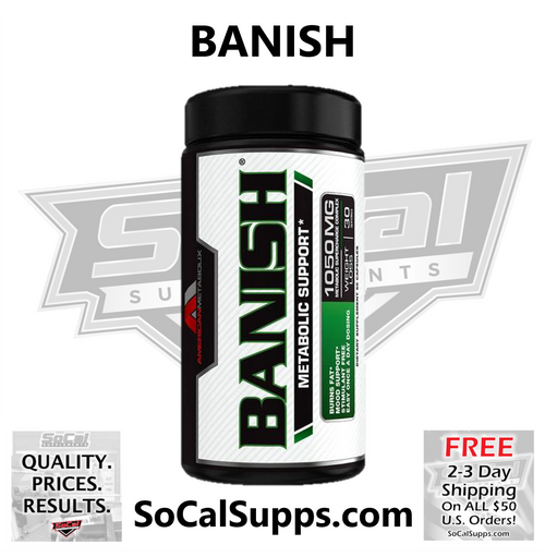 BANISH: Stimulant Free Fat-Burner