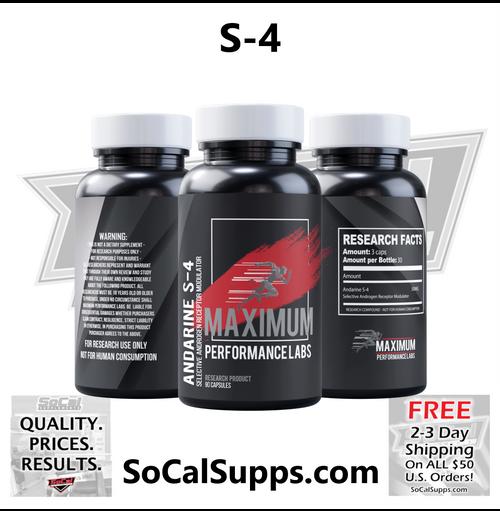 Maximum Performance Labs S-4