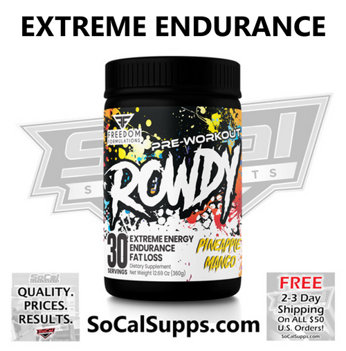 ROWDY: The Ultimate Endurance Pre-Workout