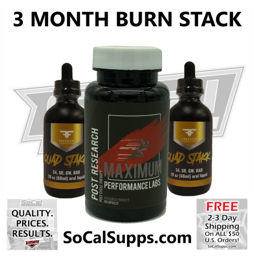 3 MONTH BURN STACK