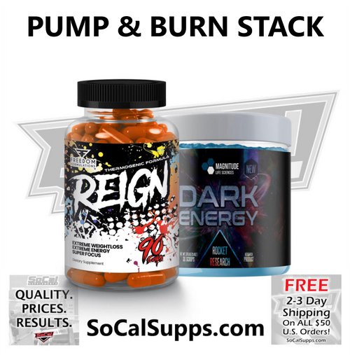 PUMP & BURN STACK: Intense Fat Burning Combo
