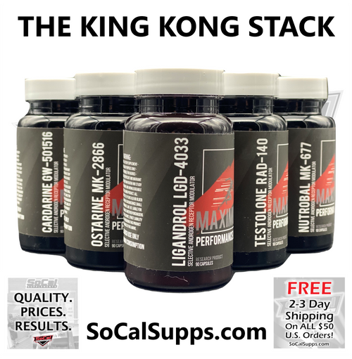 THE KING KONG STACK: The Ultimate Muscle Building Stack