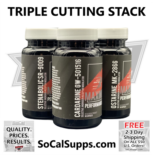 TRIPLE CUTTING STACK: Burn Fat & Build Muscle