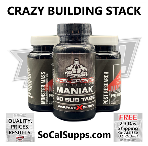 CRAZY BUILDING STACK: Insane Muscle Building Stack