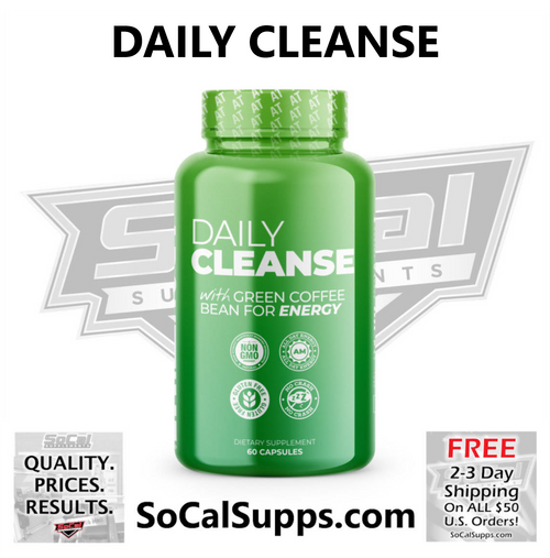 DAILY CLEANSE: With Green Coffee Bean For Energy