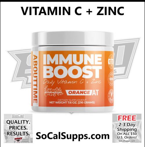 IMMUNE BOOST: Daily Vitamin C + Zinc