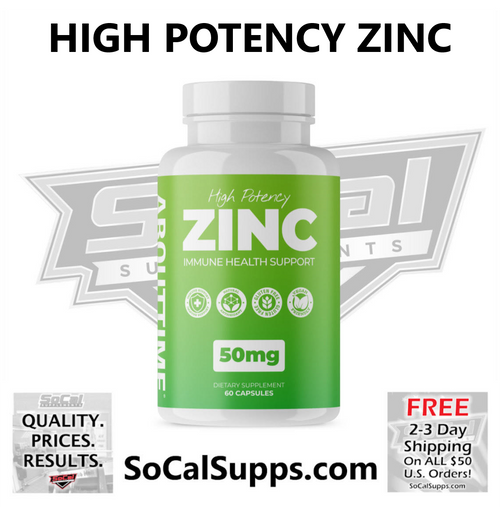 ZINC: High Potency Immune Health Support