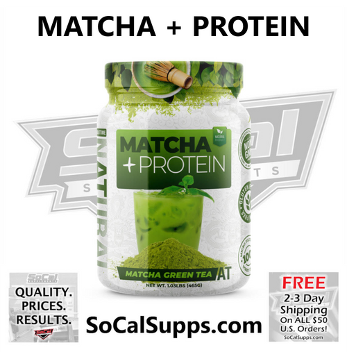 MATCHA + PROTEIN: Protein + Green Tea