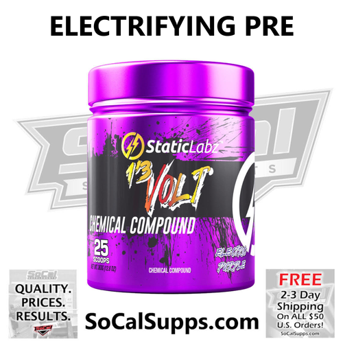 1'3 VOLT: Electrifying Pre-Workout