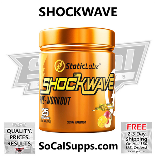 SHOCKWAVE: Super Charge Your Workouts