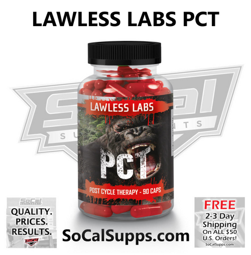 LAWLESS LABS PCT: Post Cycle Therapy