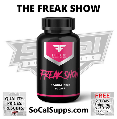 FREAK SHOW: Freakish Muscle Gains