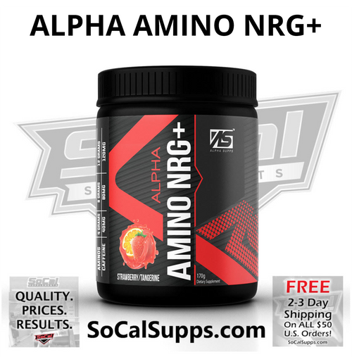 ALPHA AMINO NRG+: BCAA's with added Caffeine
