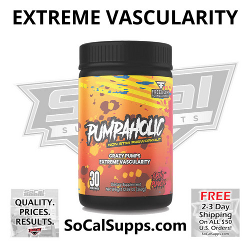 PUMPAHOLIC: Extreme Vascularity & Pumps